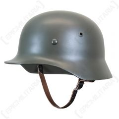 German M35 Helmet Side