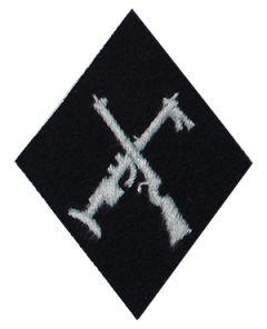 SS Armourer Sleeve Diamond (Crossed Rifles)