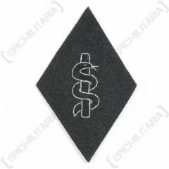 SS Medical Orderly Sleeve Diamond (Snake Outline)