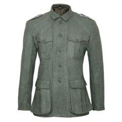 WW2 German M40 Field Grey Wool Tunic - Imperfect