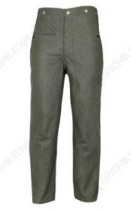 WW2 German M40 Field Grey Wool Trousers