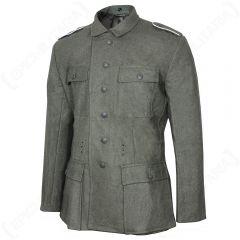 WW2 German M43 Field Grey Wool Tunic - Imperfect