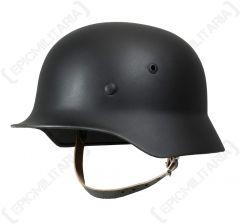 German M35 Helmet - Black
