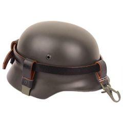 German Helmet Carrying Strap Green Buckle