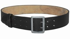 Black Army Officer Belt with Claw Buckle