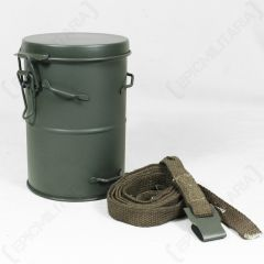 WW1 German Gas Mask Canister and Strap