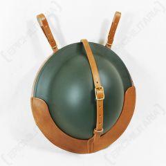 British Brodie Helmet Leather Carrier
