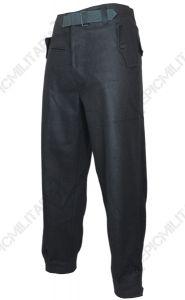 German Army Black Panzer Trousers