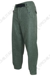German Army Field Grey Panzer Trousers