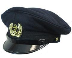 German Bundesmarine Visor Cap - Navy Blue