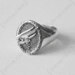 WW2 German Reproduction Fallschirmjager Officer Ring