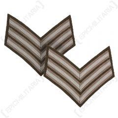 WW2 British Rank Stripes - Sergeant