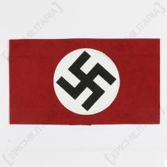 WW2 German NSDAP  Party Armband - Cotton