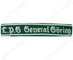 WW2 German LPG General Goring EM Cuff Title