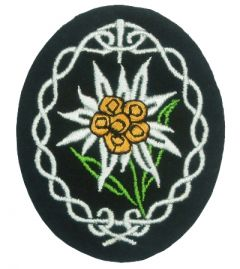 Cloth Edelweiss Badge