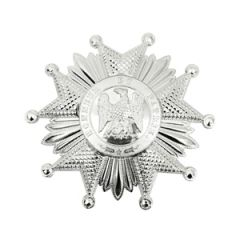 French Legion of Honor Second Empire Breast Star - Silver - Thumbnail