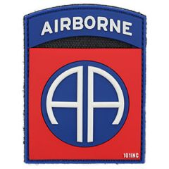 82nd Airborne Patch - PVC