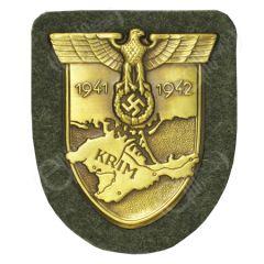 WW2 German Krim Shield - Bronze