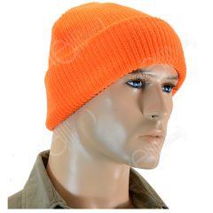 Orange Winter Watch Cap