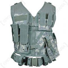 AT Digital Camo USMC Tactical Vest