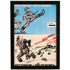 WW2 Russian Started With Joy Retreated With Tears Framed Print