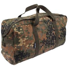 Large Flecktarn Camo Tanker Tool Bag
