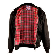 English Style Harrington Jacket - Black