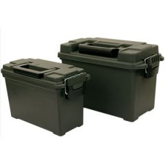 US Army OD Plastic Ammo Box Set