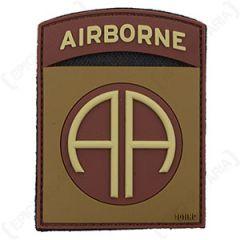 82nd Airborne Patch - PVC Desert