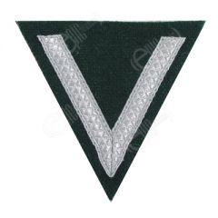 Army Gefreiter - Silver Tresse on Dark green