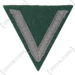 Army Gefreiter - Subdued Tresse on Dark green