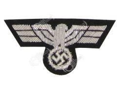 German Panzer Officer Bullion Cap Eagle