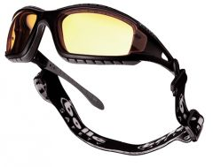 Bolle 'Tracker' Safety Glasses - YELLOW Lens