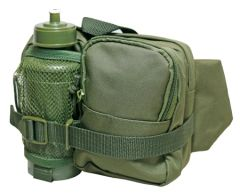 Olive Tactical WAIST Pack and Bottle