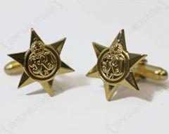 WW2 British Star Cufflinks