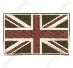 British Union Flag Patch - Subdued