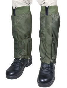 Waterproof Rip Stop Gaiters - Olive Green