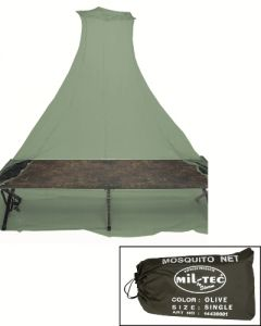 Olive Green Mosquito Net