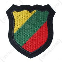 WW2 German Lithuania Volunteer Shield