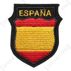 WW2 German Espana SHield as worn by Spanish Volunteers