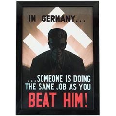 WW2 British Same Job As You Framed Print