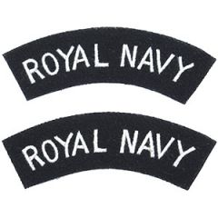Royal Navy Shoulder Titles