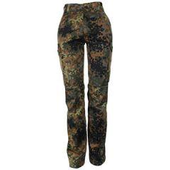 German Army Flecktarn Trousers - Womens