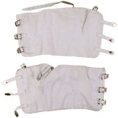 Original Italian White Gaiters