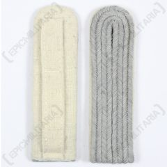 WW2 German Officer Shoulder Boards - White Piped