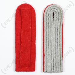 German Officer Shoulder Boards - Red Piped