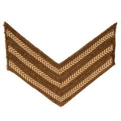 Original British Army Rank Stripe Chevrons - Sergeant