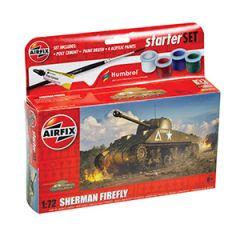 Airfix Sherman Firefly Starter Set