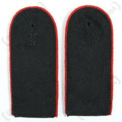 Waffen SS EM Shoulder Boards (Red piped)