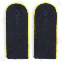 Waffen SS EM Shoulder Boards (Gold Yellow piped)